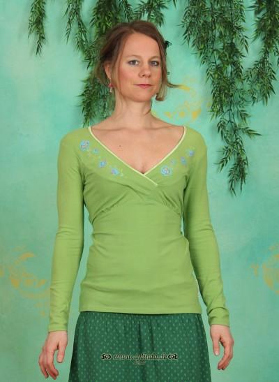 Wraparound, Wilder Wickel, paradise-green