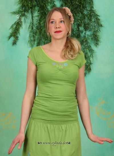 Shirt, Tea Tree Tee, paradise-green