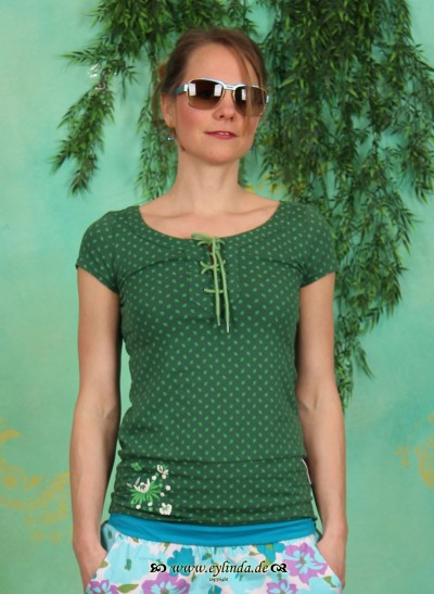 Shirt, Mangrovia Tee, verdant-leaves