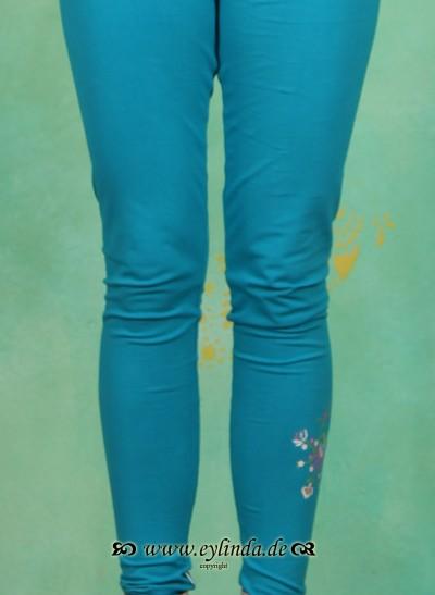 Leggins, Less-More Legs, blue-heaven