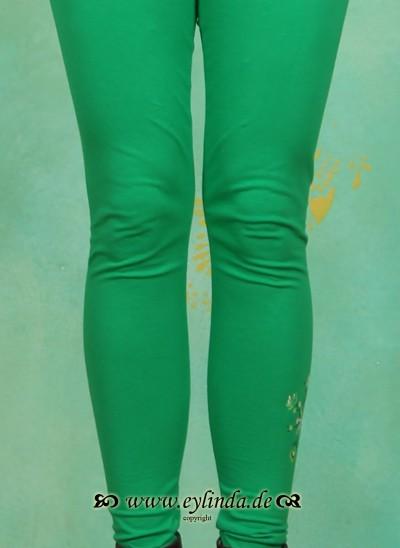 Leggins, Less-More Legs, jungle-green