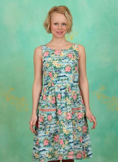 Kleid, Summer Cottage Shortdress, hawaiian-dream