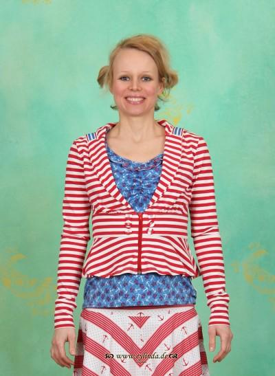 Zipper, Zipper di Mare, sailor-stripes