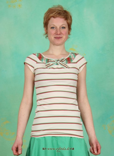 Shirt, Lucky Loop Shirt, classy-stripes