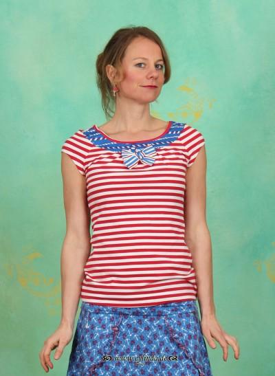 Shirt, Lucky Loop Shirt, sailor-stripes