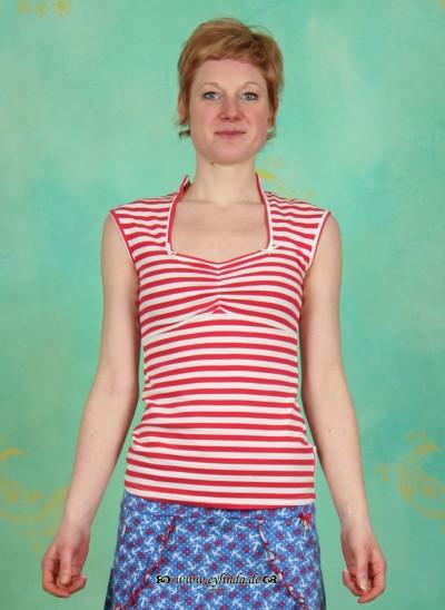 Top, Gina Tank, sailor-stripes