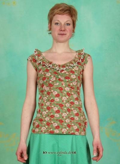 Shirt, Neck Allure Shirt, fleuromantic