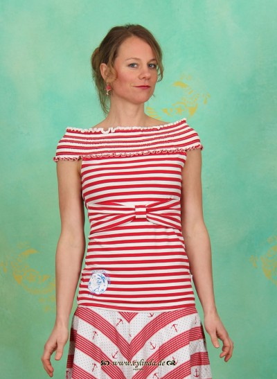 Top, Smockey Eis Top, sailor-stripes