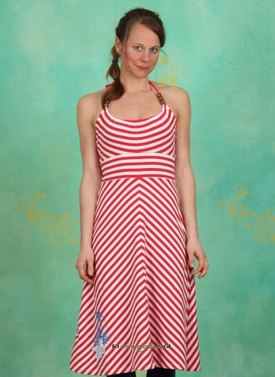 Kleid, Boobs a Hula Dress, sailor-stripes