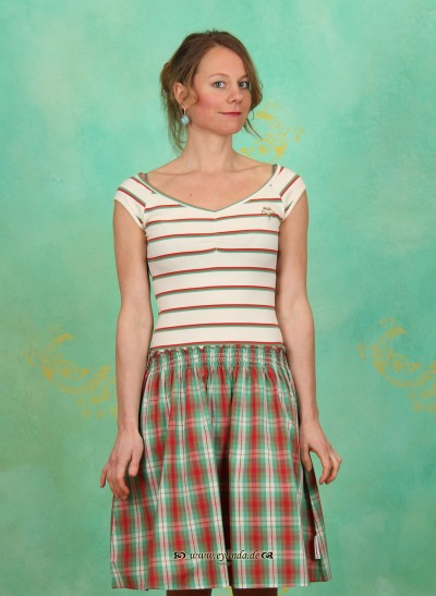 Kleid, Sailor Ballerina Dress, classy-stripes