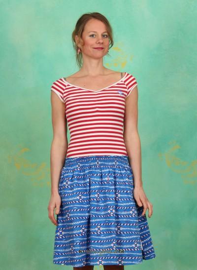 Kleid, Sailor Ballerina Dress, sailor-stripes