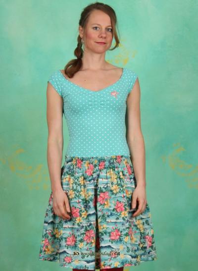Kleid, Sailor Ballerina Dress, seaside-dots