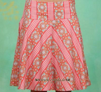 Rock, Upper Circle Skirt, capri-bordure