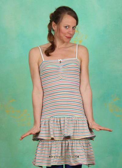 Kleid, Leisure Cocktaildress, holiday-stripes