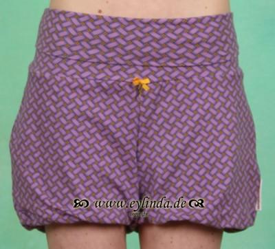 Hose, Shorts Fou, noble-plaiting