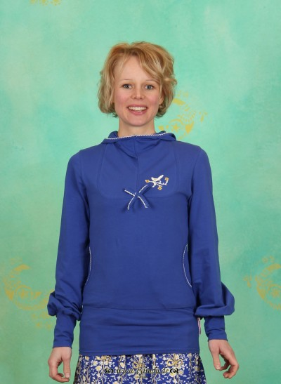 Hoody, Jausen Sauser Hoody, major-blue