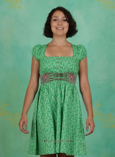 Kleid, Hinterzart Dirndldress, green-potpourri