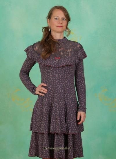 Kleid, Vreneli Volanterie Dress, bon-petite
