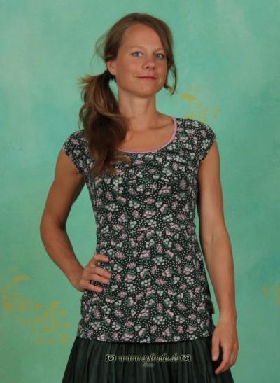 T-Shirt, Biergibt (Tannezäpfle) Tee, berry-valley-fleurs
