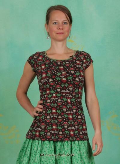 T-Shirt, Biergibt (Tannezäpfle) Tee, black-forest-love