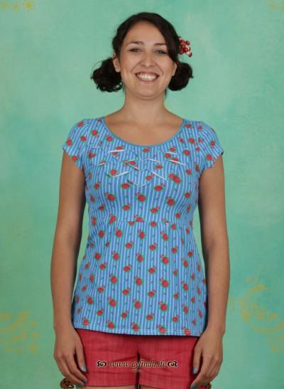 T-Shirt, Biergibt (Tannezäpfle) Tee, majolika-romance