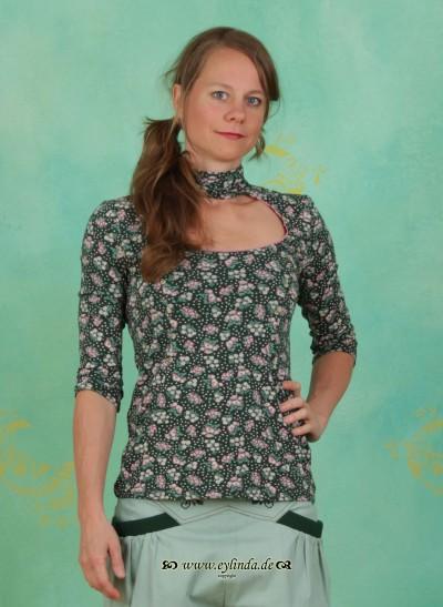Shirt, Fleckesmarie Tee, berry-valley-fleurs