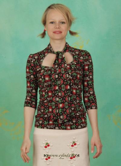 Shirt, Fleckesmarie Tee, black-forest-love