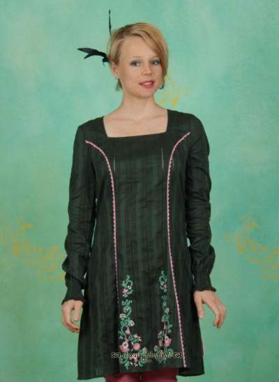 Kleid, Heimatchoral Dress, spruce-green