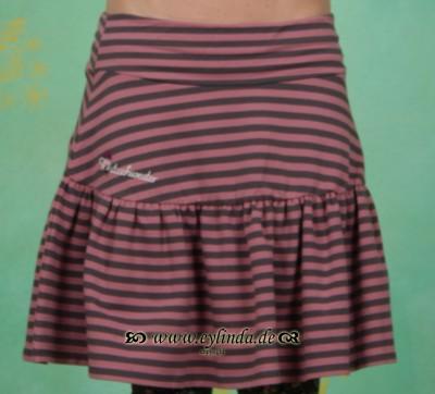 Rock, Tannentwist Skirt, rosewood-stripes