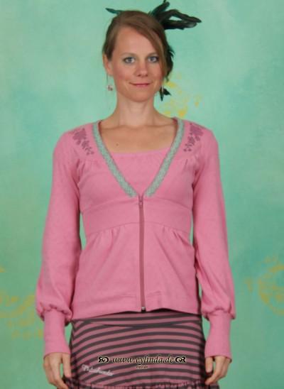 Zipper, Haselbrunn' Sweetzip, antique-pink