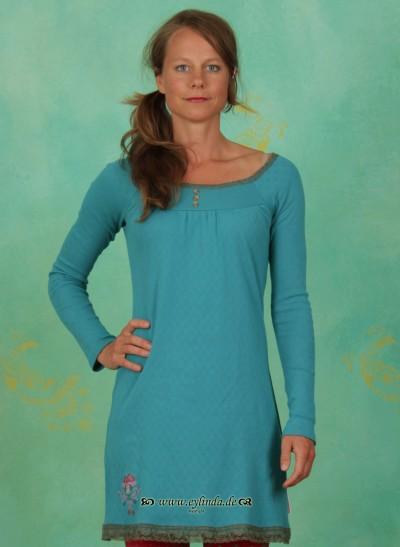 Tunika, Funkelmarie Tunique, folkloristic-turquoise