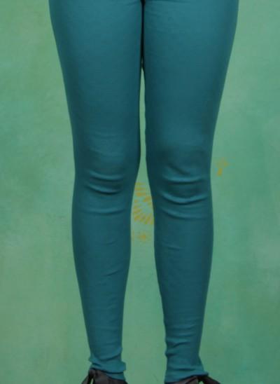 Leggins, Vorderzarten Beine, folkloristic-turquoise