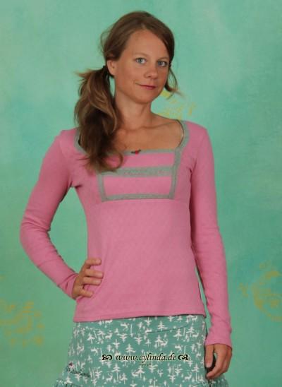 Shirt, Kirschwasser Carré, antique-pink