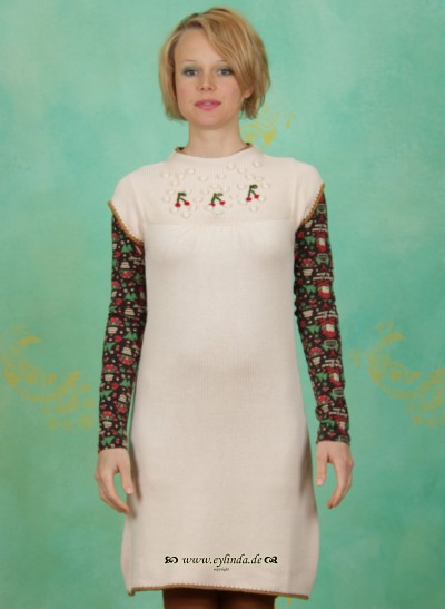 Kleid, Aber Oho Dress, delicate-cream