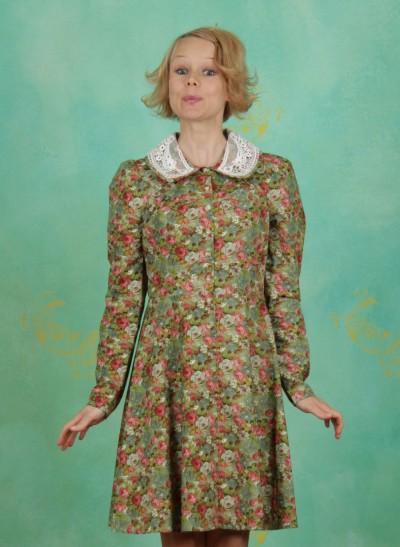 Kleid, Tartan Girl Dress, rose-garden