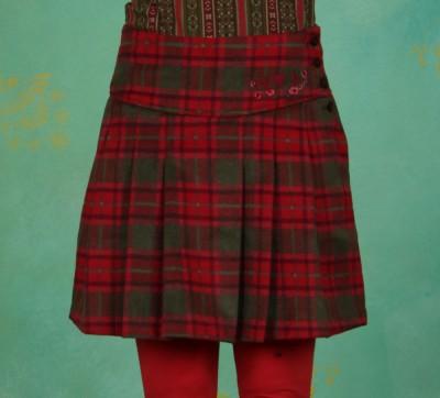 Rock, Plaidmaid Shortskirt, rosery-love