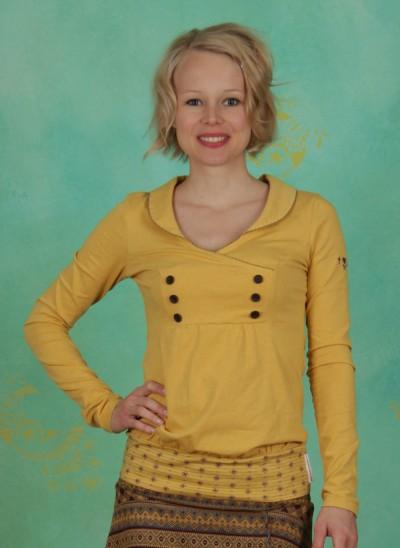Shirt, Charming Sweat, golden-melange