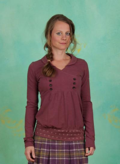 Shirt, Charming Sweat, rosery-melange