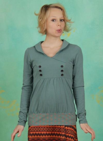 Shirt, Charming Sweat, vintage-melange