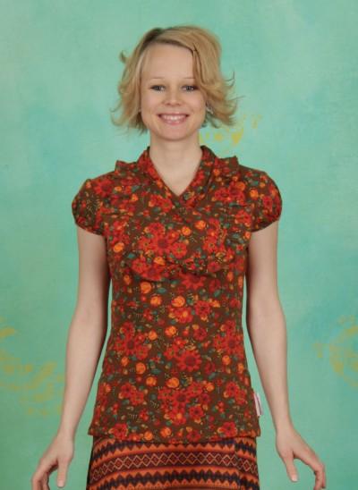 Shirt, Clever Cachette, vintage-bouquet
