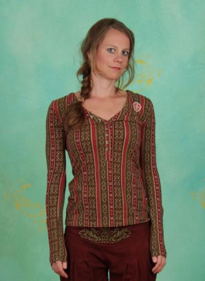 Shirt, Best Button Longsie, oriental-souvenir