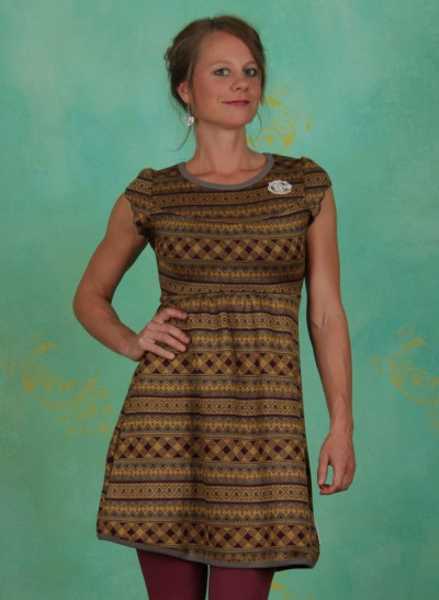 Kleid, Kränzchen Kleid, fine-drapery-knit