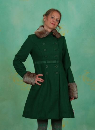 Mantel, Balalaika Coat, deep-green