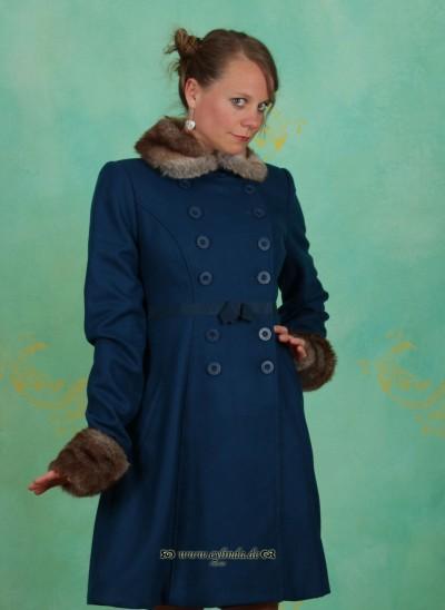 Mantel, Balalaika Coat, melody-blue