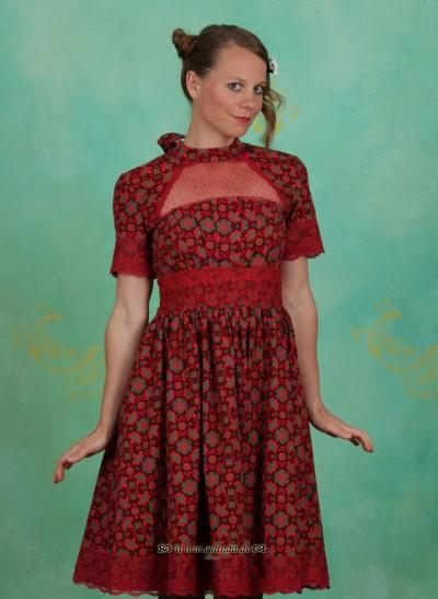 Kleid, Organ Pipe Twist Dress, popows-potpourri