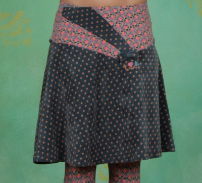Rock, Pianoconcerto Skirt, slowfox-dots