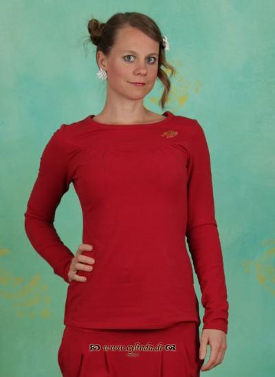 Shirt, Russian Rhapsodie Shirt, lipstick-red
