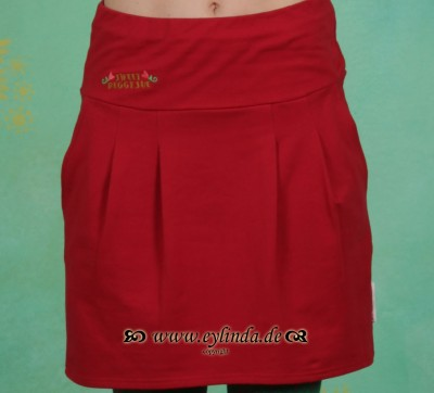 Rock, Tscha-Ska Skirt, lipstick-red