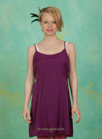 Unterkleid, Ursel'S Underdress, purple-rayon