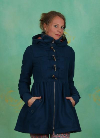 Mantel, Britpop Short Coat, melody-blue